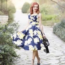 Vintage Swing Dress Fashion Dresses