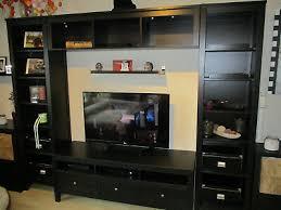 ikea hemnes wohnzimmer schrankwand tv wand kombination eur