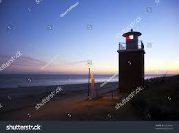 100 Island Of Fohr Small Lighthouse Beach Wyk Stock Photo Edit Now 93536581