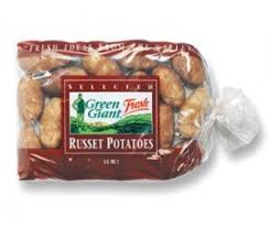 B1G1 FREE 5Lb Bag Of Green Giant Fresh Russet Potatoes