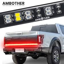 100 Running Lights For Trucks Amazoncom Tailgate Light Bar AMBOTHER 60 Double Row Tail Light
