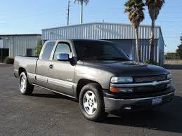 100 2001 Chevy Truck Chevrolet Silverado 1500 4dr Extended Cab LS 2WD SB In Modesto