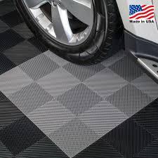 Perforated Modular Interlocking Garage Floor Tiles 12x12 inch