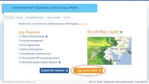 100 Wundergrond Wundergroundcom APIKey HomeMaticDokumentation