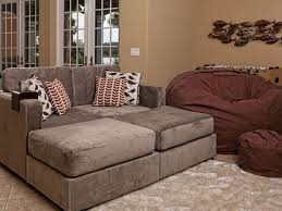 Lovesac Living Room Sactional Ideas Couch On Color Tan Herringsuede In Los