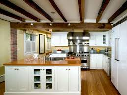 100 Rustic Ceiling Beams Bring A Look To The Kitchen With Exposed