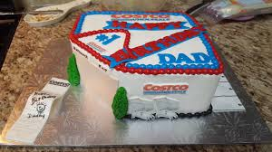Dad asked for a cake from Costco so I just gave him a cake of