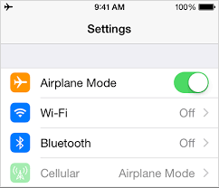 How to turn on the airplane mode on an iPhone Quora