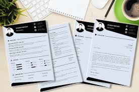 Modern CV Resume Template Made In Microsoft Word