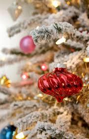 Vintage Inspired Christmas Tree