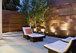 san francisco sheet metal fence patio contemporary with outdoor