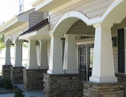 Patio Cover Precast Columns