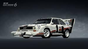 Audi Sport quattro S1 Pikes Peak 87 Gran Turismo 6