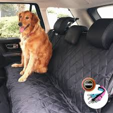 Pet Ninja Luxury Waterproof Pet Seat Cover For Cars | Pet Seat ... Dogs Seat Cover Backseat Waterproof Mat Liner For Cars Truck Suv Rear Covers Amazoncouk Amazoncom Nzac Xlarge Bench Pet Xl Size Back Dog Hammock Car Trucks Urpower Pets For Luxury Classic Innx Op902001 Quilted With Non Slip Auto Carriers Oxford Fabric Paw Pattern Isuzu N75 Heavy Duty Tailored Tipper Full Set Polyester Anstatic Vehicle Specific