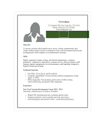 Administrative Assistant Resume Examples 2014 Executive Resumes Free Template