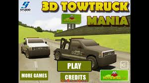 Kids Games 2016 ❁ 3D Tow Truck Mania Car Racing Games ❁ New - YouTube