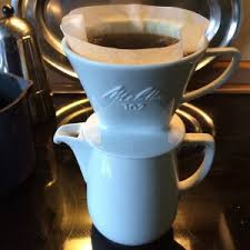 Brewing With Melitta Drip Cone