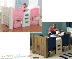Step2 Furniture Toys by Step2 Toddler Loft Bed Growing Your Baby