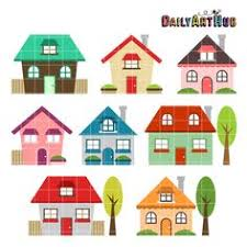 Cute House Clipart No Background