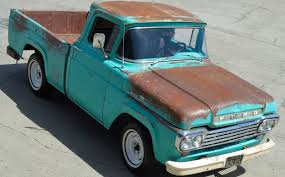 Good Old Truck: 1959 Ford F-100 Short Bed 1958 To 1960 Ford F100 For Sale On Classiccarscom 1959 Panel Van Chevrolet Apache Retyrd Photo Image Gallery Sold Custom Cab For Sale Nice Project Pickup Truck Stock Royalty Free 139828902 Cruisin Smooth In This Fordtruckscom Chevy 350 Runs Classic Other Hot Rod Network Big Window Short Bed File1959 Flareside Truckjpg Wikimedia Commons 341 Truck Zone 8jpg 32642448 Blue Oval 571960