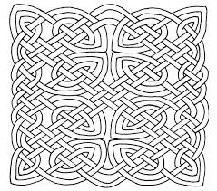 Celtic Coloring Pages Knot To Print Coloringstar Picture Page