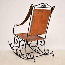 Antique Wrought Iron And Leather Rocking Chair Agha Rocking Chair Outdoor Interiors Magnificent Wrought Iron Chairs Vintage Garden Table Black Leather Chaise Lounge Modern Fniture Living Wood And Amazonin Home Kitchen Victorian Peacock Lawn Patio Set Best Images About On 15 Collection Of 4 French Folding Metal Teak Seat Bistro Amazoncom Bs Antique Bronze Scoll Ornate Cast In Worsbrough South Yorkshire Gumtree Surprising Bedroom House Winsome