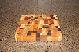Scrap Wood Hardwood End Grain Cutting Board