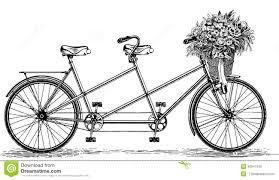 Tandem Bike Clipart Clipartfest