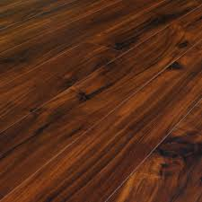 Chic Wood Click Flooring Acacia Hand Scraped Lock Laminate Floor Samples 8 X 5