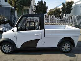 China 4 Wheel Mini Electric Pickup Truck No Pollution Photos ...