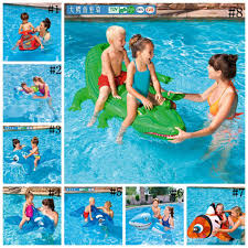 Kids Inflatable Pool Float Raft Boat Summer Outdoor Swimming Party Lounge Ride On Water Toys OOA2071 Online