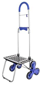 Amazon.com: Stair Climber Bigger Mighty Max Dolly Cart, Blue ...