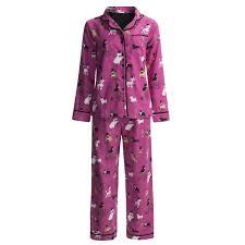 nite nite by munki munki classic flannel pajamas long sleeve