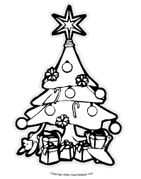 Christmas Tree Coloring Page Print by Christmas Tree Coloring Pages For Kids Coloring Home