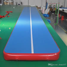 Gymnastic Floor Mats Canada by 2018 Inflatable Air Track Inflatable Gym Mat Many Size Physical