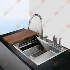Install Kindred Sink Strainer by 38 Inch 12mm Thickness Stainless Steel Topmount Drop In Double