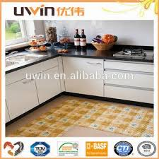 China Plastic Carpet Washable Floor Mat Easy Care Foam PVC Kitchen Mats