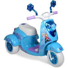 6V Disney Frozen 3 Wheel Scooter Ride On