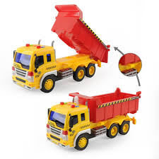 1/16 Construction Engineering Truck Digger Demolition Car+Dump ...