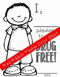 Just Say No To Drugs Coloring Pages Find This Pin And More On Red Ribbon Week By Mirarchi Free Printable