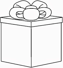 Present black and white images on clipart