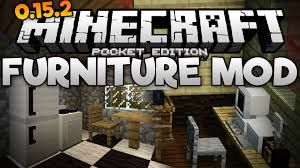 FURNITURE & DECORATIONS in MCPE The Furniture Mod for 0 15 2