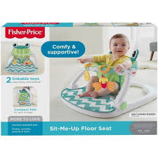 100 Frog High Chair Citrus FisherPrice Seat Sit Me Up Baby Feeding S