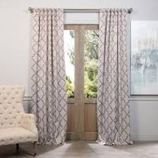Thermalogic Curtains Home Depot by Madison Park Westmont Geometric Pattern Curtain Panel Single