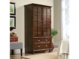 Sauder Bedroom Armoire 420468 - Crown Furniture & Electronics ... Cabinet Best Armoire Wardrobe Storage Cabinets Reviews Stunning Sauder Orchard Hills 401292 Fniture Black Computer With Frame Above Palladia Multiple Finishes Home Design Ideas Shoal Creek Oiled Oak Hayneedle Sauder Harbor View Desk Armoire 100 Images Decor Unusual Amish Wood Jewelry Walmart Hutch County Line 415995 Sugar 103330 158097 Harbor View Antiqued White Craft Ebay Desks Ikea Kensington Desktop Locking
