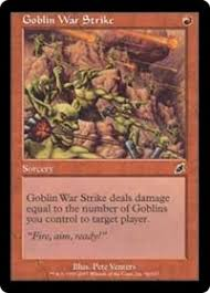 Goblin Charbelcher Vintage Deck by Primer G R Belcher Combo Established Legacy Legacy Type