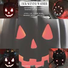 Pumpkin Scentsy Warmer 2015 by Scentsy September 2017 Warmer And Scent Of The Month Jack