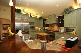Country Green Kitchen