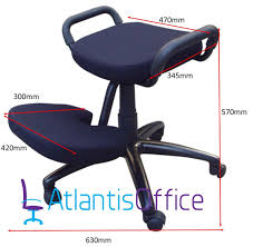 Ergonomic Kneeling Chair Australia by Kanga Heavy Duty Posture Kneeling Chair Amazon Co Uk Office Products