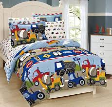 Boys Comforter Set Mk Collection 7 Pc Full Size Kids Teens Blue Red ...
